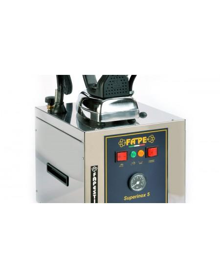 Ferro da stiro professionale a caldaia inox - 5 litri - Top Station